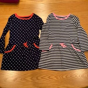 Set of 2 LS Cotton Dresses